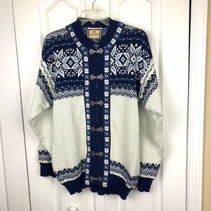 Dale of Norway Cotton Fair Isle Sweater